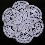 yıldız desenli gümüşlük dantel örneği modeli