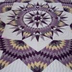 yıldız desenli mor patchwork modeli