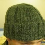 yeşil geniş lastik erkek bere modeli