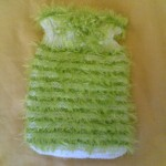 yeşil sakallı ipten sabun bezi modeli