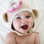 çok şirin örgü bebek beresi modeli