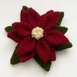 örgü atatürk çiçeği modeli
