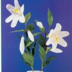 örgü orkide çiçek modelleri