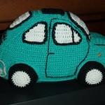 örgü oyuncak araba modeli