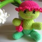 örgü oyuncak bebek modeli