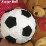 örgü oyuncak futbol topu modeli