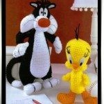 örgü tweety oyuncak modeli