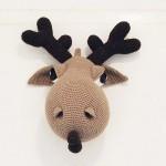 amigurumi oyuncak geyik modeli