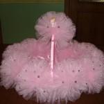 boncuklu pembe kız bebek sepeti modeli