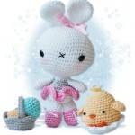 civcivli amigurumi oyuncak bebek modeli