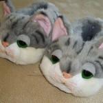 gri sevimli tavşan panduf modeli