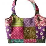 kırkyama desenli kumaş çanta modeli