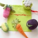 kız çocuklarına sebzelerden örgü oyuncak modelleri