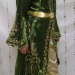 maraş işi yeşil bindallı modeli