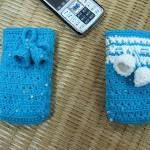 mavi örgü cep telefon kılıfı modelleri