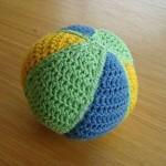 mavi yeşil örgü oyuncak yop modeli
