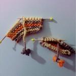 minik kazak örgülü buzdolabı süsü modeli