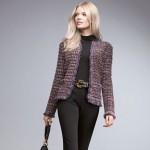 mor kırçıllı iple örülmüş abiye örgü ceket modelleri