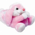 pembe çok şirin tavşanlı panduf modeli
