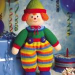 rengarenk çizgili pantalonlu örgü plyaço modeli