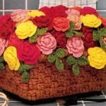 rengarenk örgü saksı çiçeği örnekleri