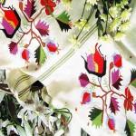 rengarenk türk işi çin iğnesi modeli