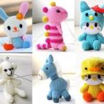sevimli örgü oyuncak örnekleri