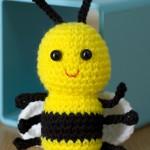 sevimli bal arısı amigurumi modeli