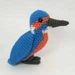 siyah uzun gagalı örgü göçmen kuş modeli