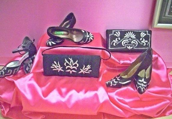 tel kırma ayakkabı çanta modelleri
