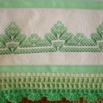 yeşil hesap işi havlu modeli