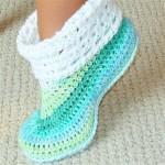 renkli ev ayakkabısı