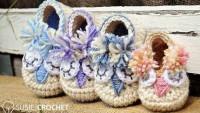 Rengarenk Örgü Ev Ayakkabısı ve Patikleri