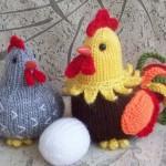 örgü tavuk horoz ve yumurta
