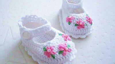 Cıvıl Cıvıl  Örgü Çocuk ve Bebek Patikleri