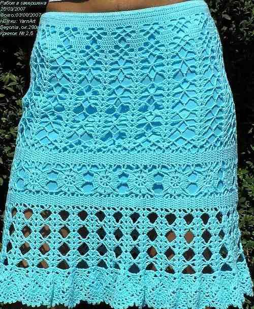 Вязаная юбка крючком схема. Летние вязаные юбки крючком. Посмотрите запись, чтобы узнать подробности