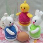 rengarenk örgü yumurtalıklar