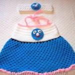 bebek ve çocuk örgü elbiseler