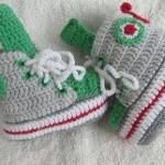 erkek çocuklar için örgü ev ayakkabısı