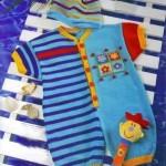 rengarenkörgü bebek tulumu