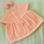 turuncu bebek elbisesi