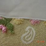 balık ve çiçek motifli iğne oyaları