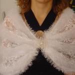 beyaz dantel yün karışımı etol modelleri