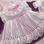dantel kız bebek elbiseleri