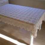 dikdörtgen masa örtüsü modeli