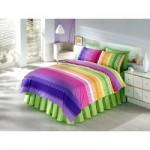 gökkuşağı renginde uyku seti modeli