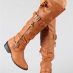 kahverengi bayan çizme modelleri