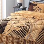 kahverengi krem uyku seti modeli