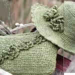 merserize çanta ve şapka modeli