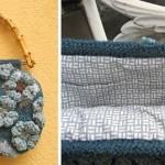 motifli çanta örneği